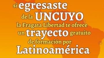 Viaje de formación en la Fragata Libertad para egresados de la UNCuyo