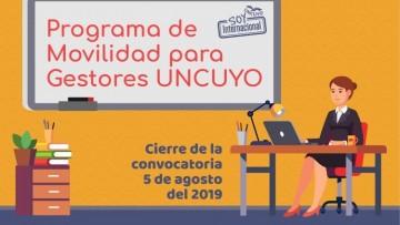 Convocatoria para movilidad del personal de apoyo de la UNCUYO