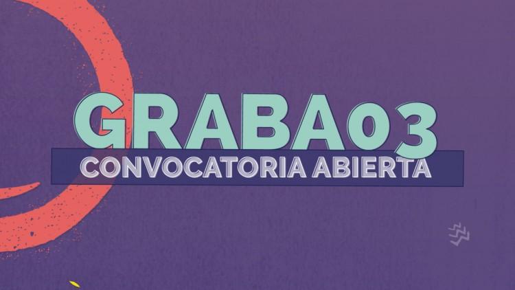 """Concurso de diseño """"Festival Graba 03"""""""