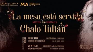 Muestra en homenaje a Chalo Tulián