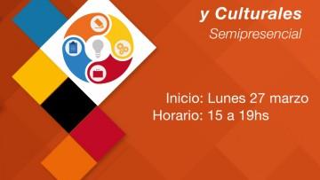 Seminario abierto Emprendimiento en Industrias Creativas y Culturales