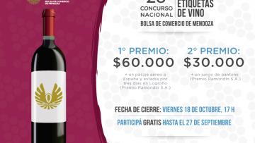Se reciben propuestas para el concurso nacional de etiquetas de vino 2019