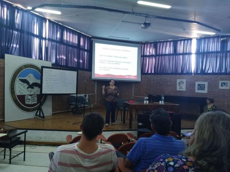 Se realizó taller de sensibilización en perspectiva de género
