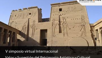 """Comienza el VI Simposio Virtual Internacional """"Valor y Sugestión del Patrimonio Artístico y Cultural"""""""