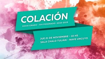La FAD invita al acto de colación 2018- 2019