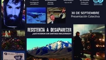 La FAD será uno de los puntos en los que se estrenará un documental sobre Santiago Maldonado