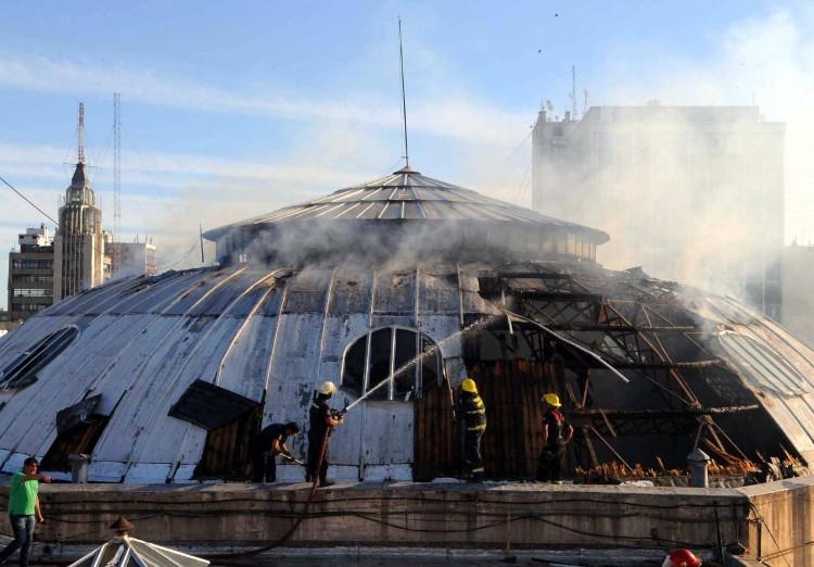 La Facultad, consternada tras el incendio de la cúpula del ECA