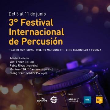 Comienza el Tercer Festival Internacional de Percusión