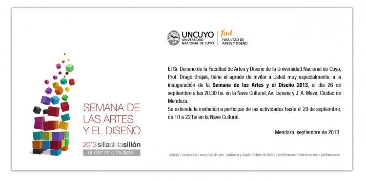 Semana de las Artes y el Diseño 2013