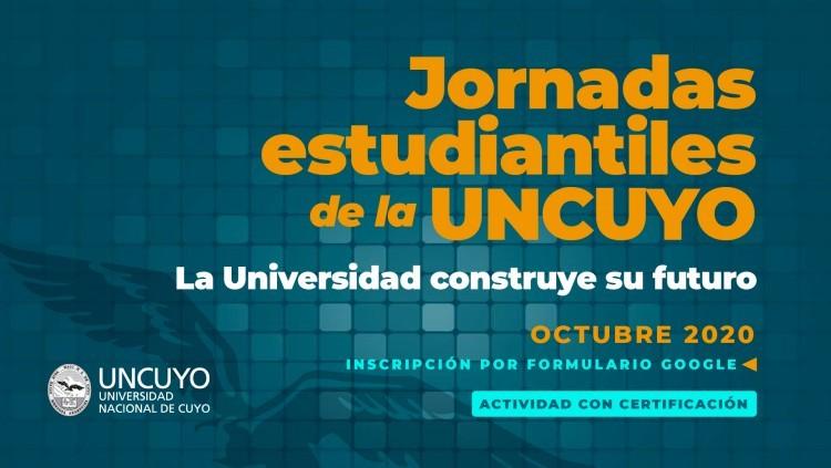 Convocan a participar de las Jornadas Estudiantiles de la UNCUYO