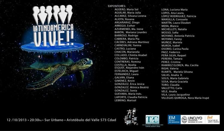 Exposición Latinoamérica vive