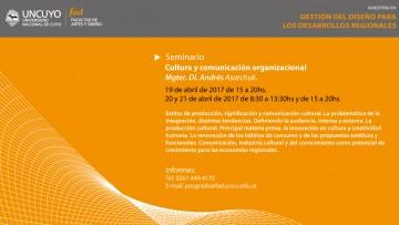 Comienza el Seminario sobre Cultura y Comunicación Organizacional