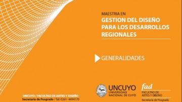Comienza Maestría del Diseño para los Desarrollos Regionales