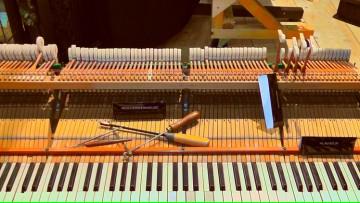 Brindarán nociones básicas para el cuidado y mantenimiento de pianos
