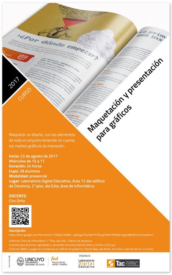 Maquetación y presentación para gráficos