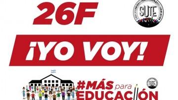 La Facultad de Artes y Diseño adhiere a la marcha de l@s trabajadores de la educación