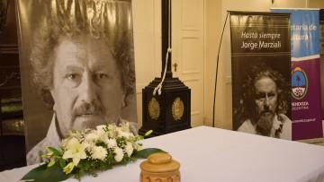 La Facultad de Artes y Diseño acompañó el homenaje a Jorge Marziali