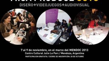 Convocan a productores y profesionales de Diseño, Videojuego y Audiovisual, para el   MICA Produce en Cuyo.