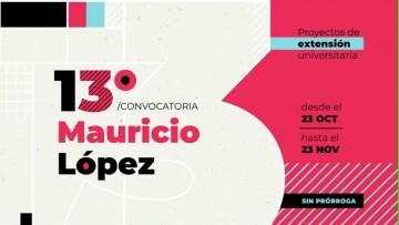 Convocan a presentar proyectos socioeducativos Mauricio López