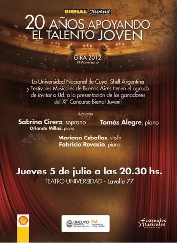 Bienal Juvenil en el Teatro Universidad
