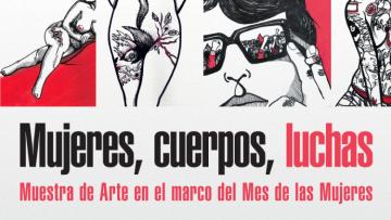 Artistas plásticas exponen muestra en el mes de la mujer