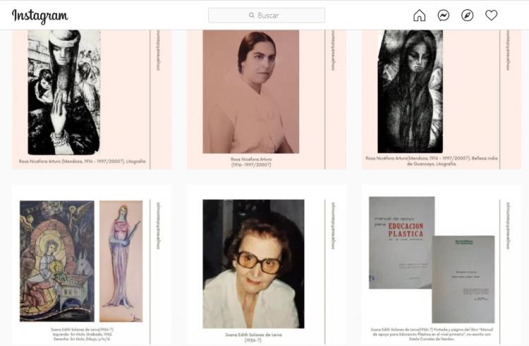 Un proyecto visibiliza las trayectorias de las artistas egresadas de nuestra facultad
