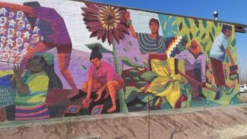 Por qué es tan valioso el mural en la Escuela Campesina Agroecológica de Jocolí