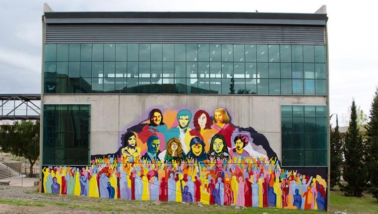 Inaugurarán mural por la Memoria