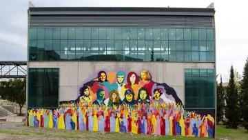 Inauguraron mural por la Memoria