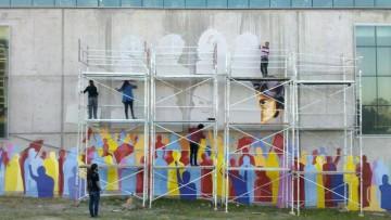 Presentarán documental sobre el mural en homenaje a desaparecidos