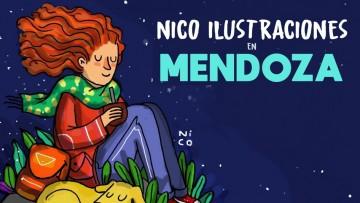 Encuentro con Nico Ilustraciones en la facultad