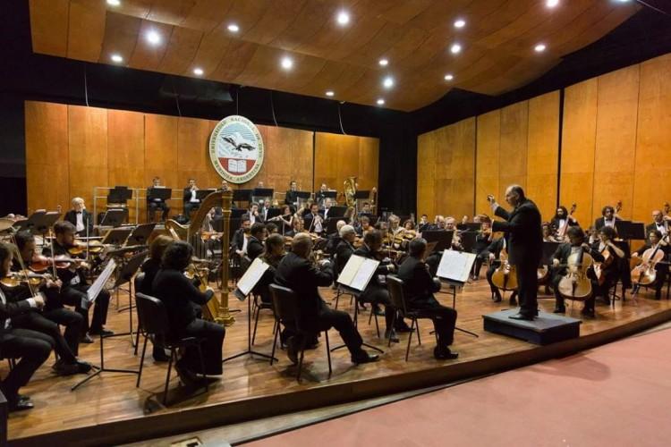 Estudiantes seleccionados para participar en la Orquesta Sinfónica