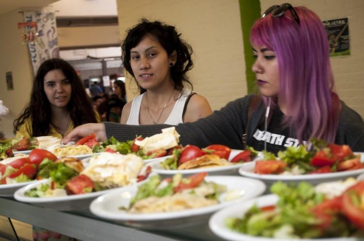 Alimentación, rendimiento académico y estrés