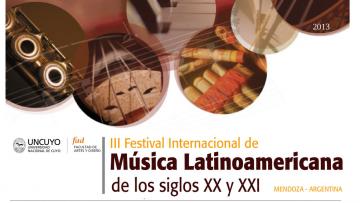 III Festival Internacional de Música Latinoamericana de los Siglos XX-XXI