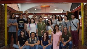 Estudiantes de intercambio visitaron la Facultad