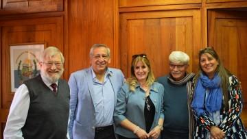 Mendoza y San Juan estrechan lazos de cooperación