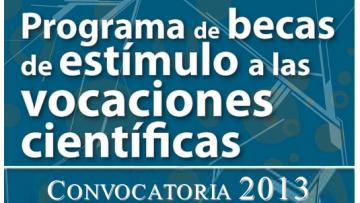 Programa de Becas Estímulo a las Vocaciones Científicas