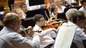 Práctica pre-profesional para instrumentistas en la Sinfónica