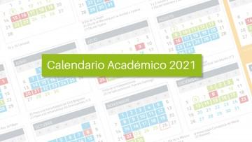 Calendario académico 2021