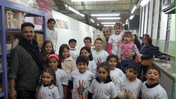 Niños y niñas conocieron los talleres de la FAD