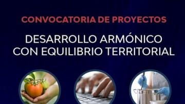 Financian proyectos para el Desarrollo Armónico con Equilibrio Territorial