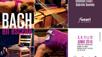 Bach en escena, una propuesta de danza contemporanea y música