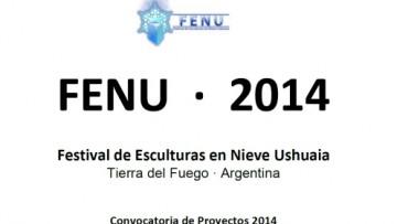 Festival de Esculturas en Nieve Ushuaia 2014