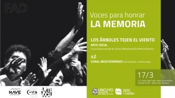 Voces para honrar la Memoria
