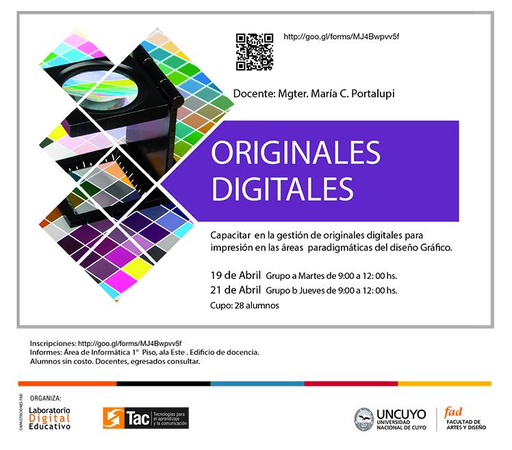 CURSOS ANTERIORES Originales digitales